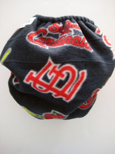 St. Louis Cardinals Cloth Diaper