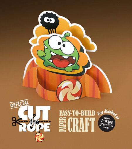 Cut the Rope Papercraft