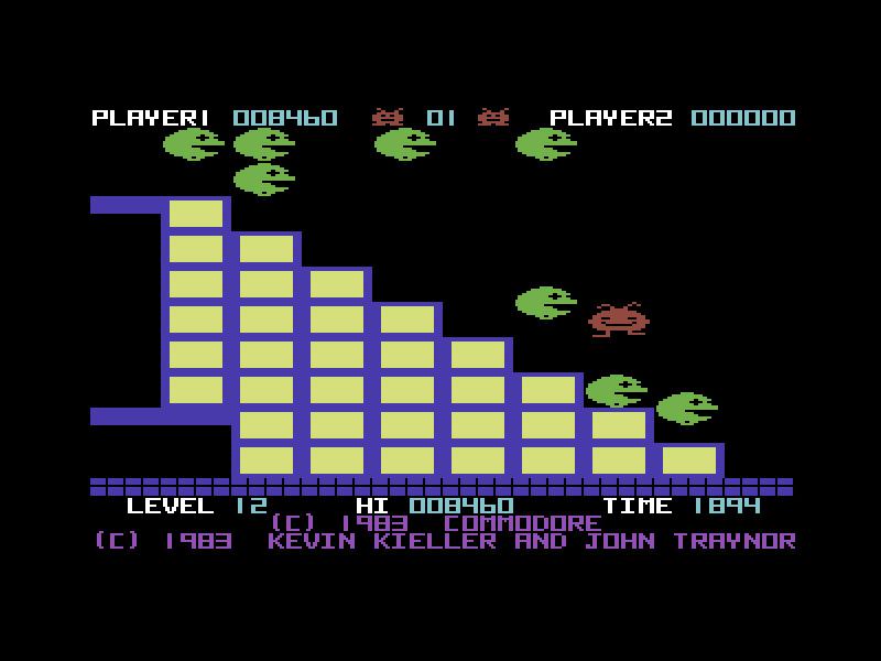 Jack Attack, C64, 1983