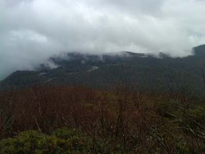 View from Mt. Pisgah, Clouds