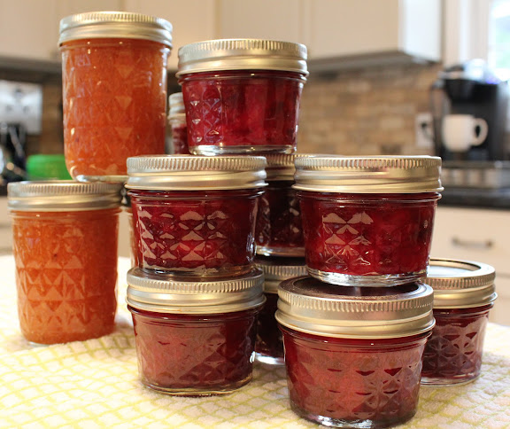 This summer I made copious amounts of jam knowing it would make the ...