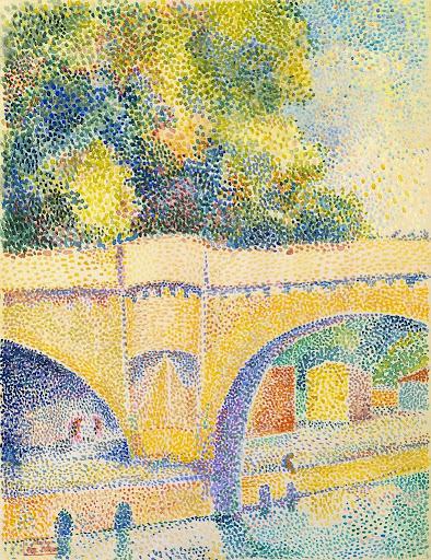 Hippolyte Petitjean - Le Pont Neuf, ca. 1912–14