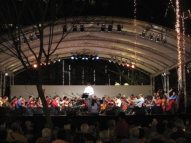 Philippine Philharmonic Orchestra at the Salcedo Park