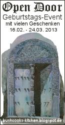 Open Door Geburtstags-Event (Einsendeschluss 24. März 2013)