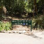 Symbolised sign at Carnley Avenue in Blackbutt Reserve (402160)