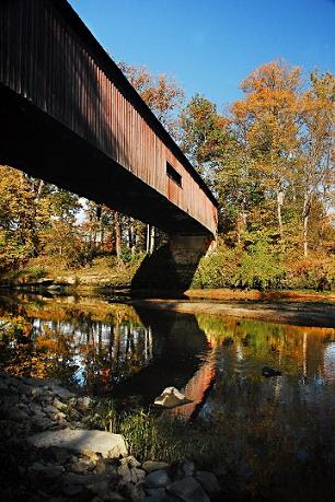 """Covered Bridge"" by Ron Edwards. Photography."