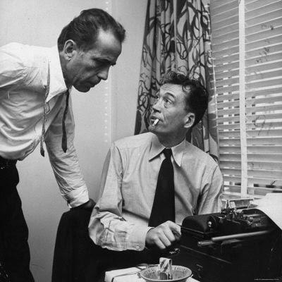 Humphrey Bogart and John Huston vs HUAC