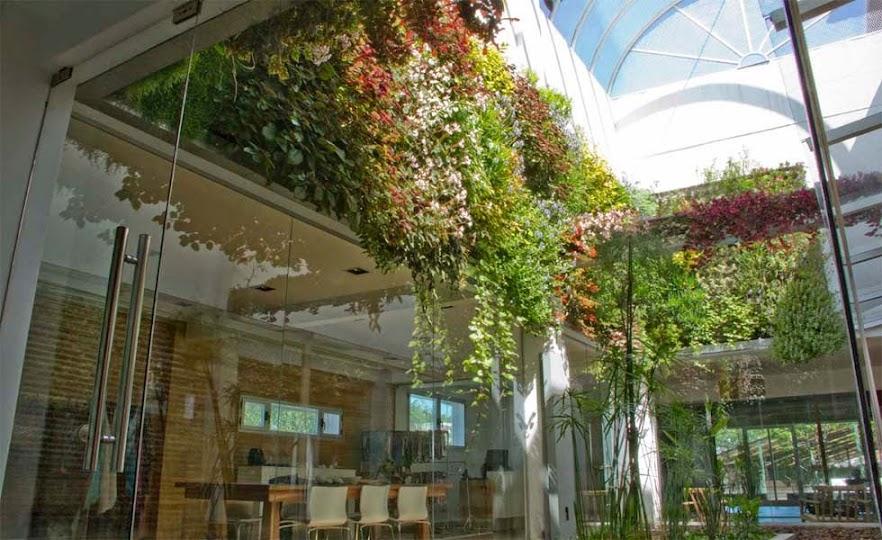 Jard n vertical en buenos aires inntex la paternal for Jardin vertical oficina