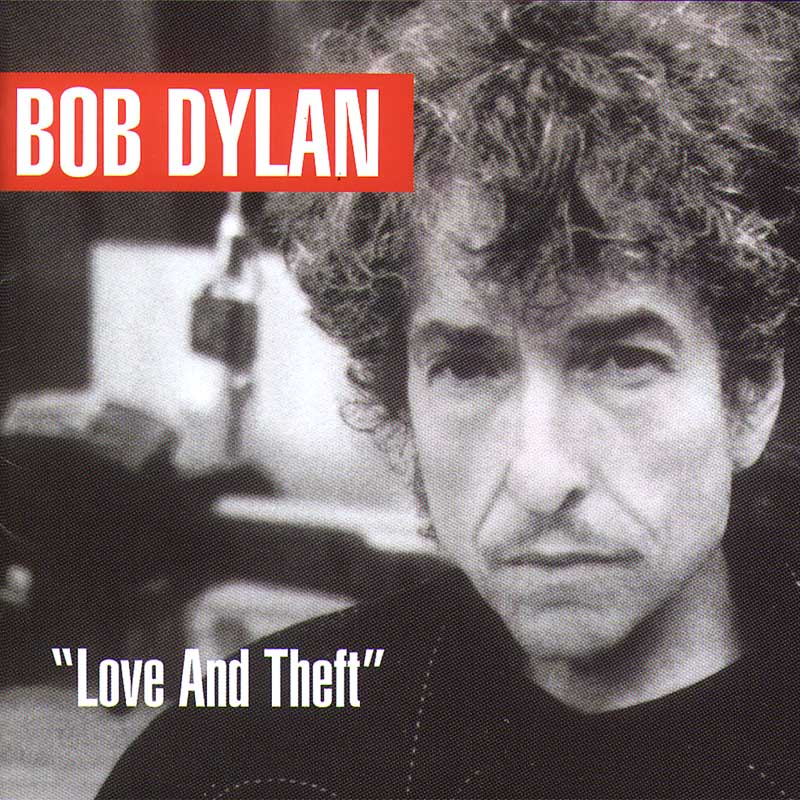 Bob Dylan - 'Love and Theft' album cover