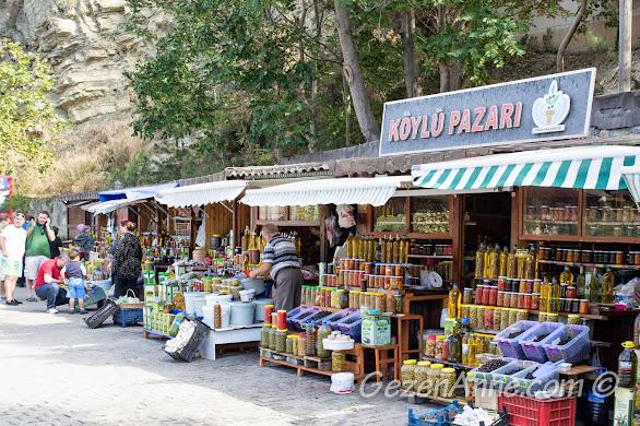 Bursa, Trilye sahilindeki köylü pazarı