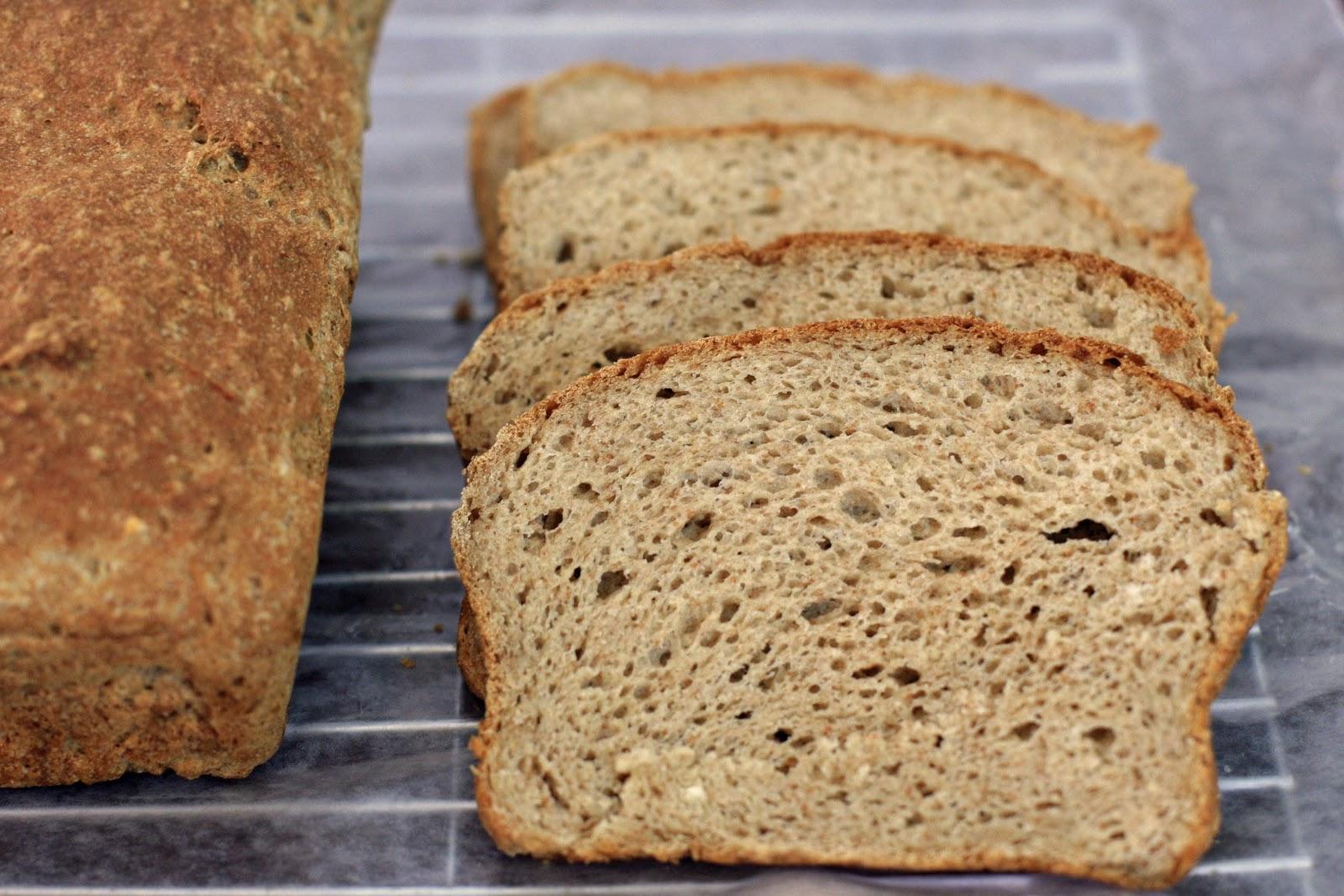 Brown Sandwich Bread with Teff, Gluten-Free   Girl Cooks World