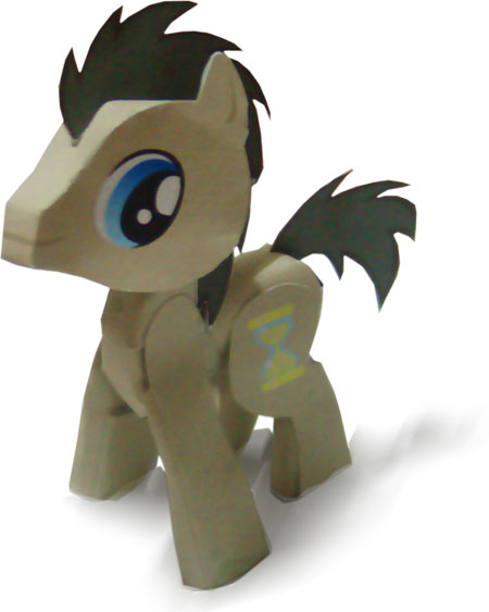 My Little Pony - Doctor Whooves Papercraft