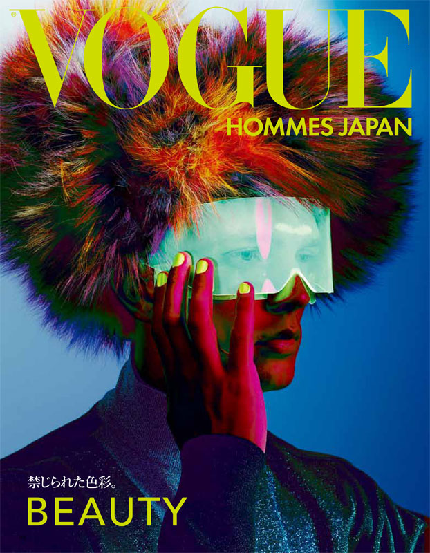 Benjamin Eidem @ Elite London/Request by Richard Burbridge for Vogue Hommes Japan F/W 2011. Styled by Robbie Spencer