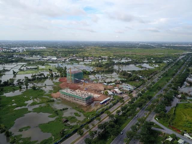 Đại học Kinh  Tế Hồ Chí Minh đã xây đến tầng 10