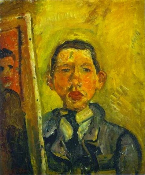 Chaim Soutine - Self Portrait, 1918
