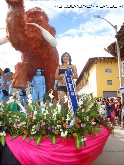 Videos del magestuoso corso 2011 en Cajabamba