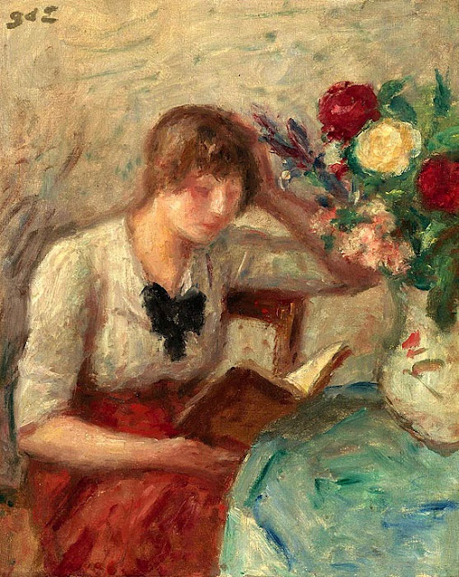 Georges d'Espagnat - Young Woman Reading