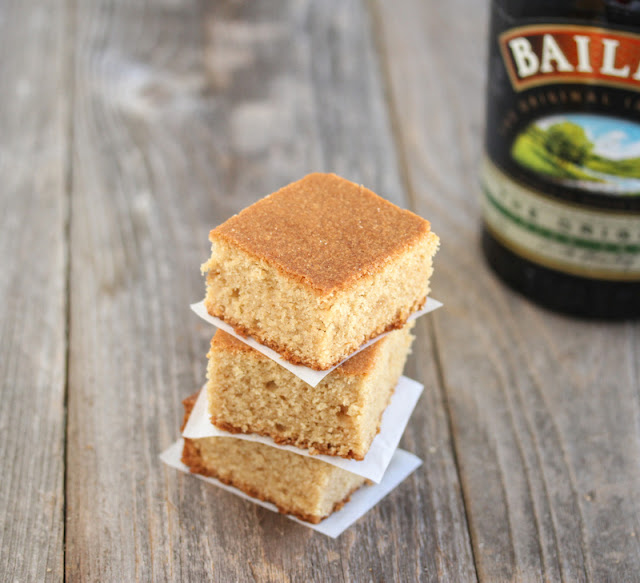 close-up photo of Baileys Blondies