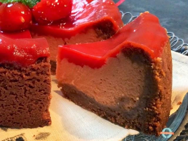 cheesecake americana al pomodoro