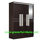Lemari Pakaian 3 Pintu Graver Furniture