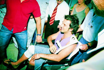 Tarkan knee injury