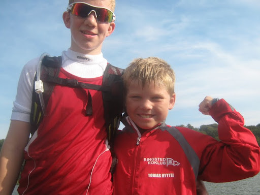 Frederik Pil og Tobias Hyttel vandt henholdsvis bronze og sølv ved DM marathon 2011