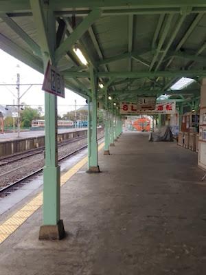 西武秩父線 三峰口駅