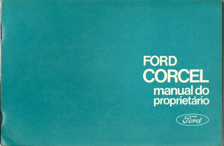 MANUAL DO PROPRIETARIO FORD CORCEL 1972
