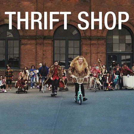 Macklemore and Ryan Lewis feat Wanz - Thrift Shop Lyrics