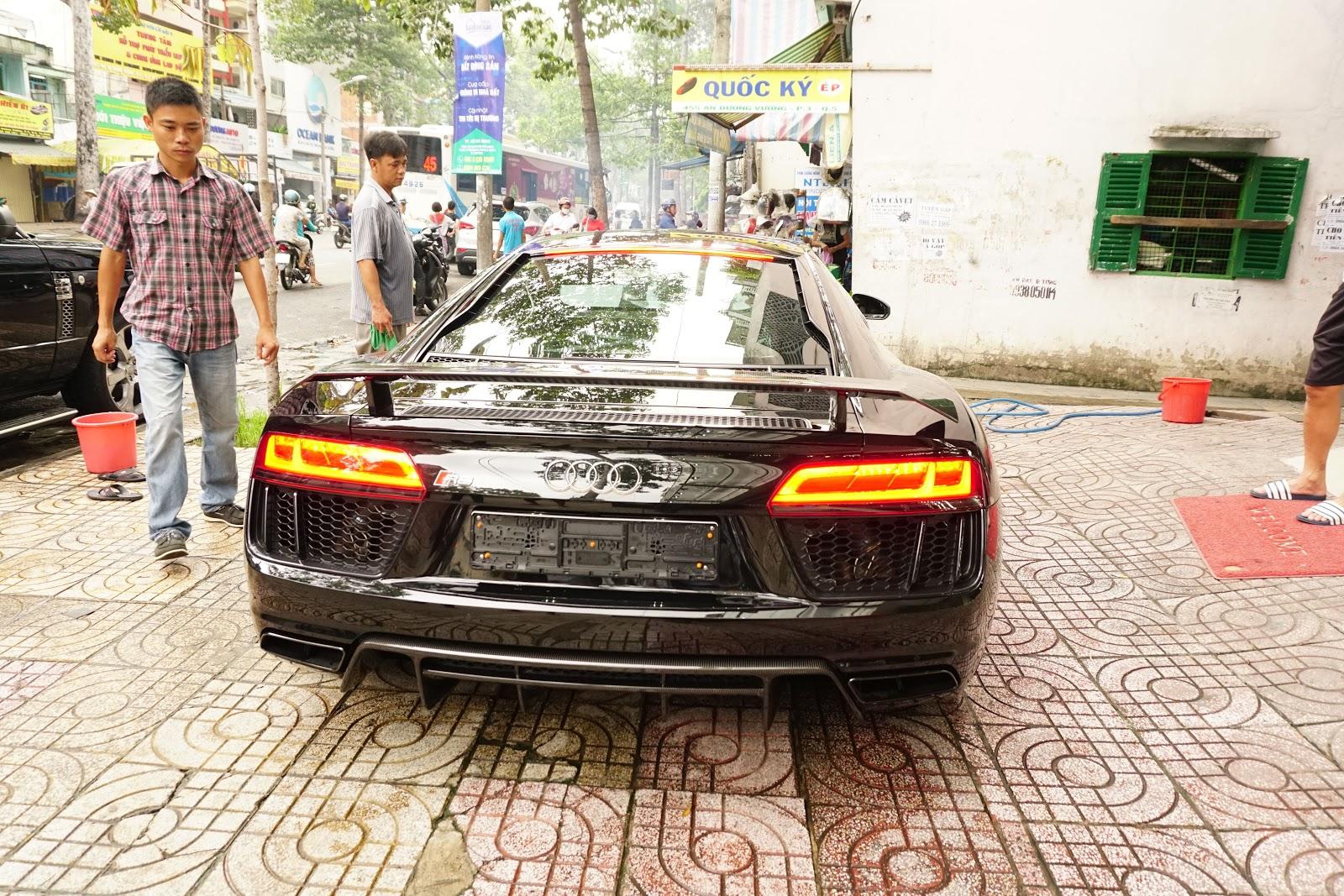 Audi R8 V10 Plus 2016