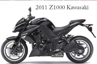2011 Kawasaki Z1000 left