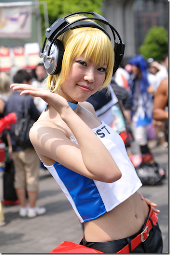 unknown cosplay 98 from japan winter comiket 2010 / kira kira pop princess cosplay - gaby