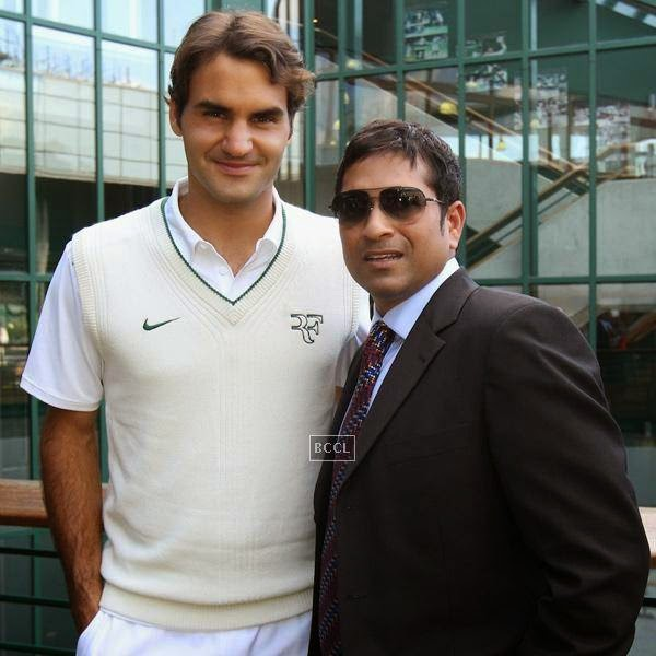 Tendulkar is a regular visitor at the Royal Box during Wimbledon and a couple of seasons back Swiss ace Roger Federer had posted a pic of himself with the Indian superstar on his twitter account.