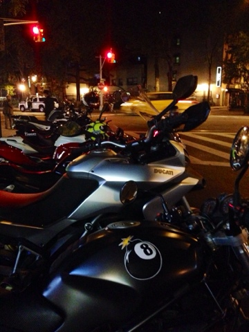 Tigho NYDucati at the Ear Inn: DOCNYC Tuesdays in Tribeca and Joes Pizza in the West Village