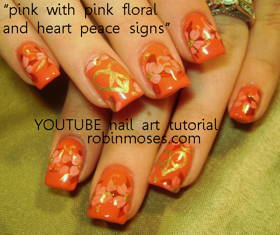 Nail Art By Robin Moses Tinkerbell Nail Art Design Glitter And