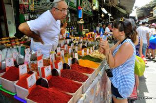 Рынок Кармиэль. Экскурсия Тель-Авив Яффо. Гид в Тель-Авиве и Яффо Светлана Фиалкова.