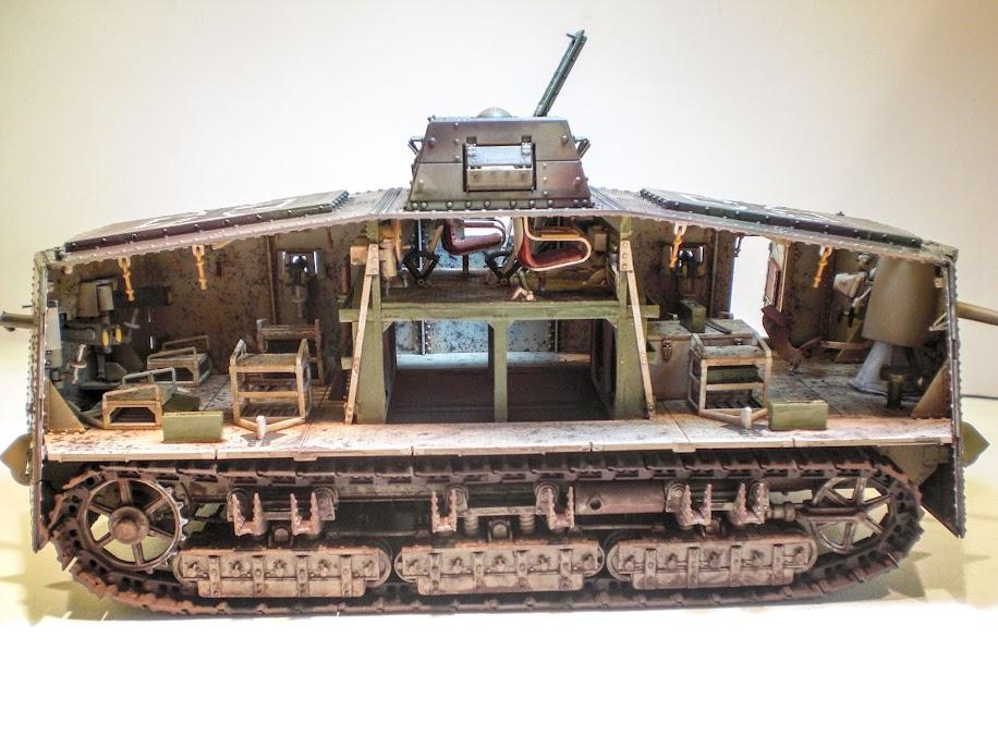 a7v interior. a7v with tactical number 504 named \ a7v interior