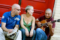 Trio Bembe: Scott Senior,Amber Epp, and Rodrigo Muñoz