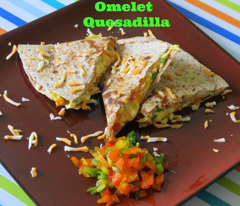 Omelet Quesdilla