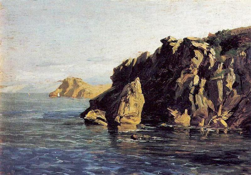 Carlos de Haes - Rocas de Santa Catalina