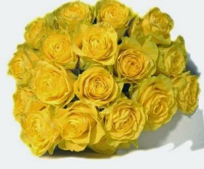 hoa tươi đà nẵng - hoa cưới bằng hoa hồng vàng