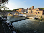 Now on the Trastevere side of the river Tiber