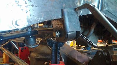 FJ40 Panhard Frame Bracket