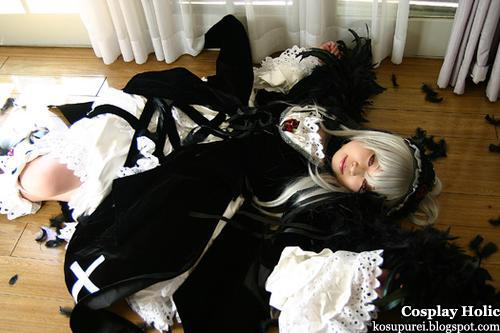 rozen maiden cosplay - suigintou 02
