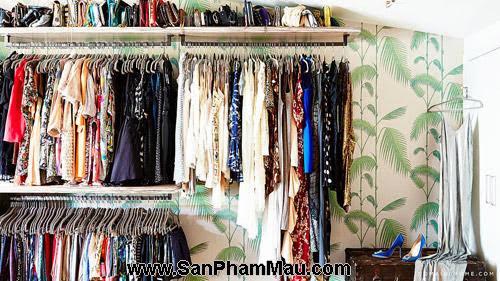 Thiết kế tủ quần áo: Một số thủ thuật giúp tăng diện tích để quần áo-8