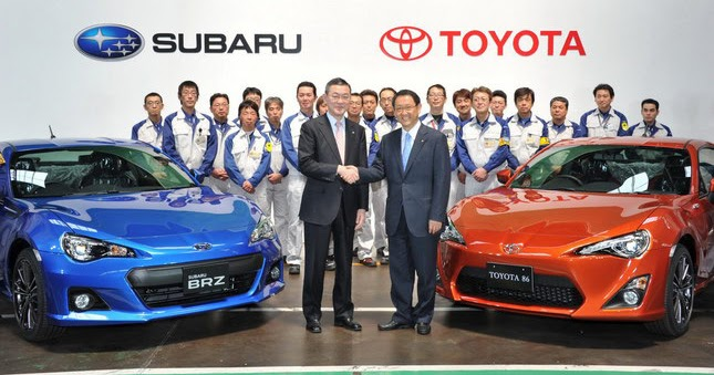 we ask toyota and subaru about james may 39 s claim that toyota gets 90 of gt 86 fr s brz production. Black Bedroom Furniture Sets. Home Design Ideas