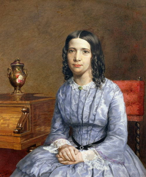 John Edward Brett - Portrait of Matilda Bury, 1855