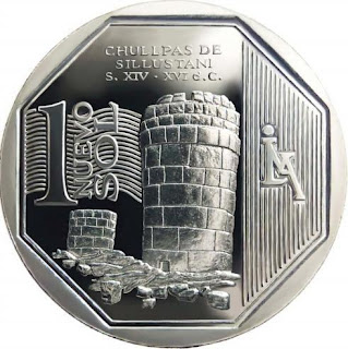 Chullpas de Sillustani en moneda