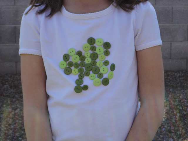 Shamrock Button Shirt