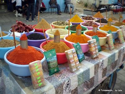 Puesto Especias Medina Tunez